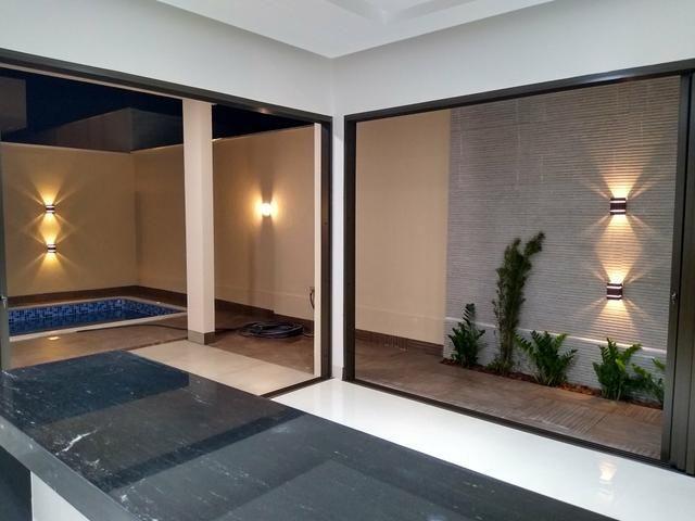 Magnífica casa no Condomínio Mirante do Lago 4 suítes - Foto 7
