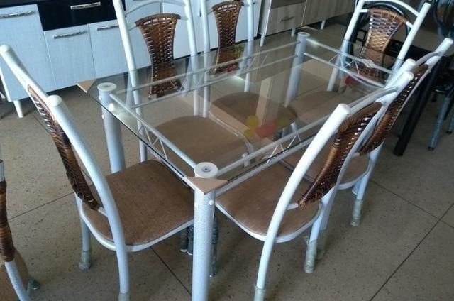 Mesa Lia 6 cadeiras - Foto 3