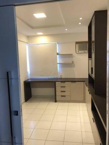 Edf. Vivart Apartamento com 3 dormitórios à venda, 83 m² por R$ 420.000 - Jatiúca - Maceió - Foto 7