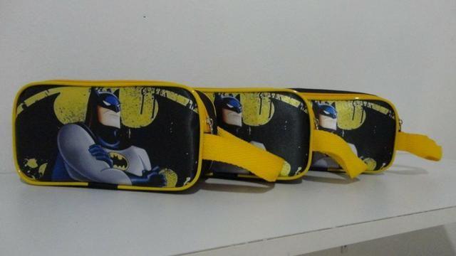 Estojos de lapis Otimo acabamento material nylom 600 Frente em sublimação - Foto 2