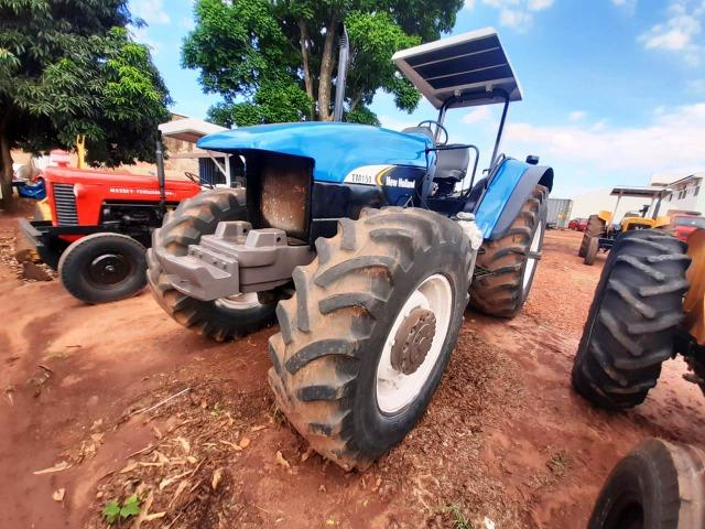 Trator New Holland TM 150 ano 2003 - Nova Andradina - MS - Foto 6