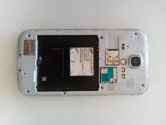 Galaxy S4 - Danificado - Para peças