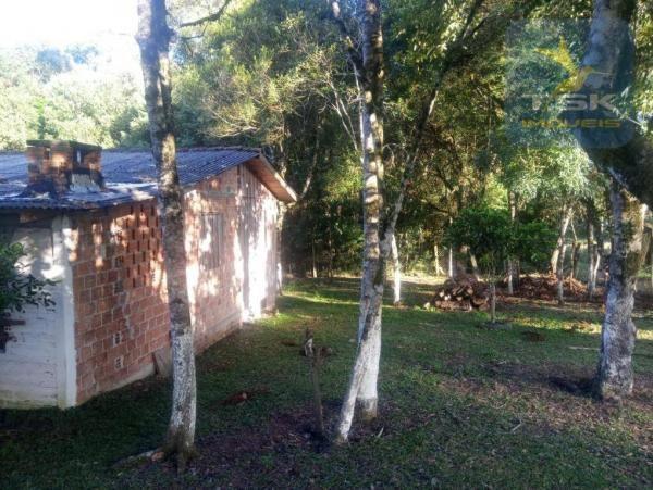 CH0386 - Chácara à venda, 6050 m² por R$ 130.000 - Zona Rural - Quitandinha/PR - Foto 12