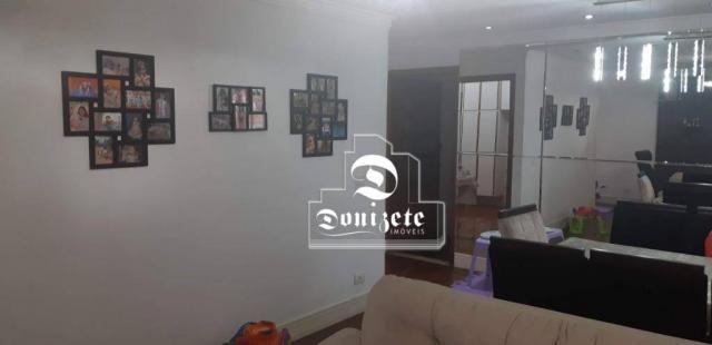 Apartamento com 4 dormitórios à venda, 118 m² por R$ 450.000,10 - Campestre - Santo André/ - Foto 3