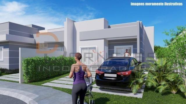 Casa recém construída no Jd. Cataratas com 2 quartos, amplo quintal - apta para financiame - Foto 12