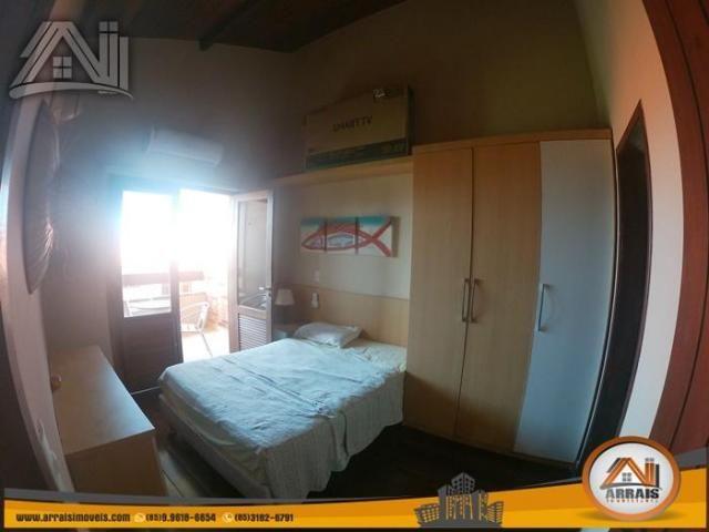 Casa com 4 dormitórios para alugar, 180 m² por R$ 3.900,00/mês - Porto das Dunas - Aquiraz - Foto 15