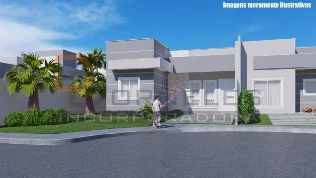 Casa recém construída no Jd. Cataratas com 2 quartos, amplo quintal - apta para financiame