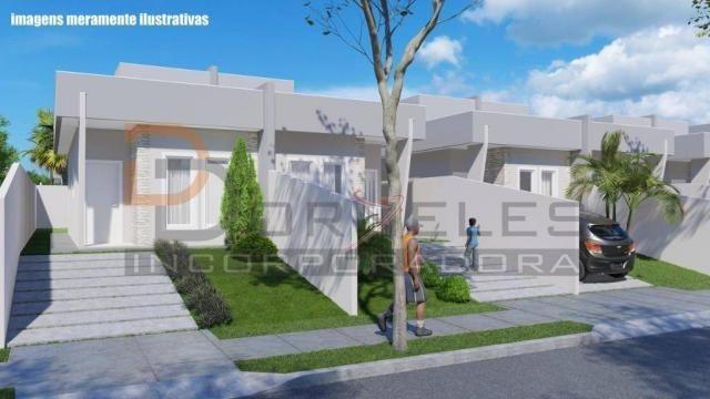 Casa recém construída no Jd. Cataratas com 2 quartos, amplo quintal - apta para financiame - Foto 7