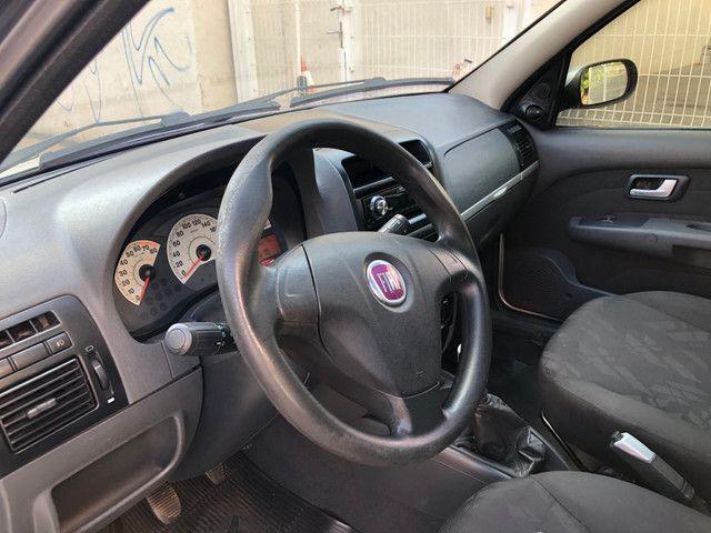 Fiat Palio Attractive Completo 1.0 Flex 4 Portas Prata 2007/08 - Foto 7