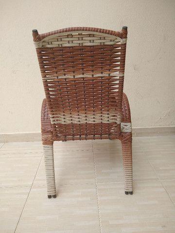 Cadeira pe fixo, para varanda - Foto 3