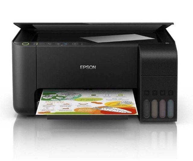 Impressora Multifuncional Epson L3150 Jato De Tinta Ecotank Colorida, Wifi, Bivolt - Foto 4