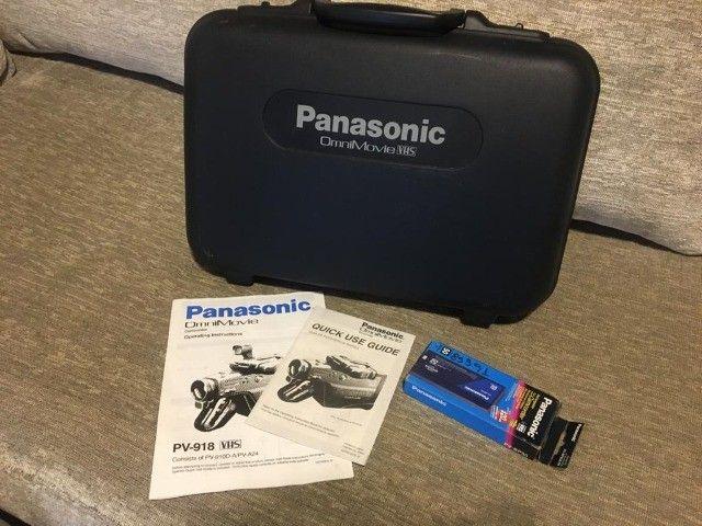 Filmadora Panasonic Omni-movie PV-918 VHS - Foto 4