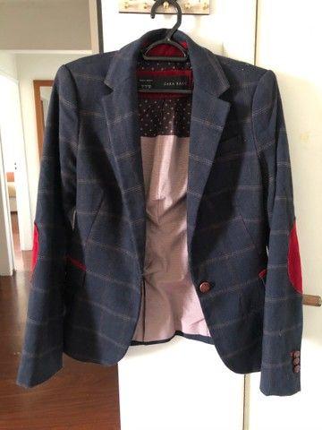 Blazer Zara feminino - tamanho S (P)