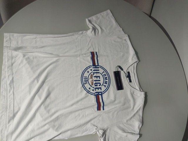 Camisa da tommy Hilfiger tamanho L - Foto 2