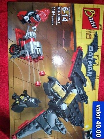 Batman bloco de montar similar ao lego  - Foto 5