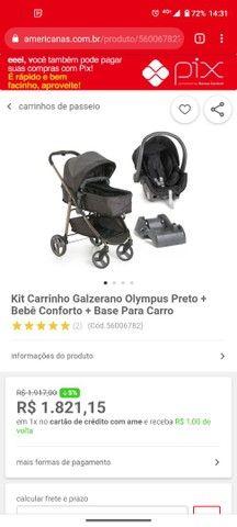 Vendo Kit carrinho Galzerano Olympus - Foto 6