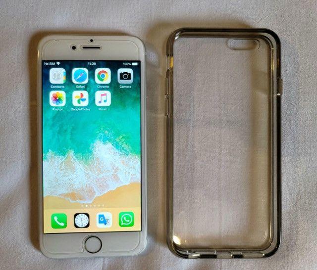 IPhone 6 64 Gb Prata, Impecável E Perfeito Estado!