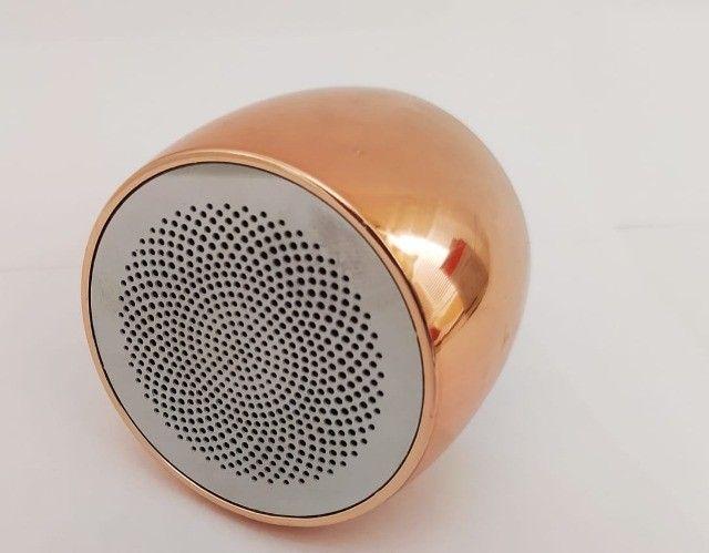 U9 V4.2 Falante Sem Fio Da Liga de Alumínio Mini Speaker Portátil Sem Fio - Foto 4