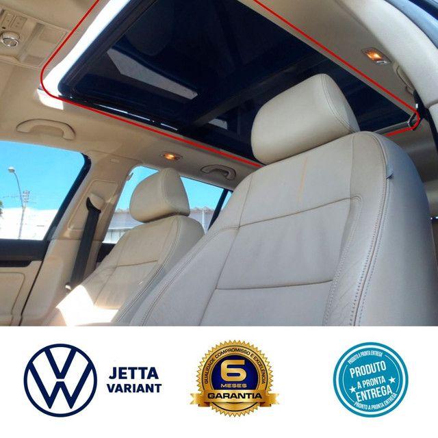 Cortina toldo persiana do teto solar VW Jetta Variant instalada
