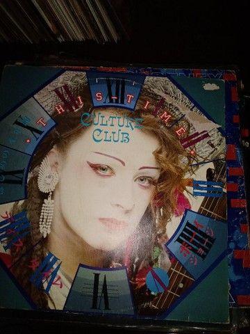6 LPs conforme fotos, Enigma,Kate Bush,Cultura Clube,Simples Minds, - Foto 5