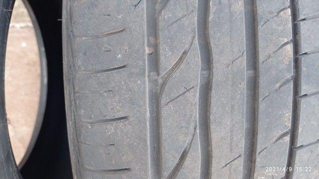 Vendo 4 pneus usados 205/55/r16 - Foto 4