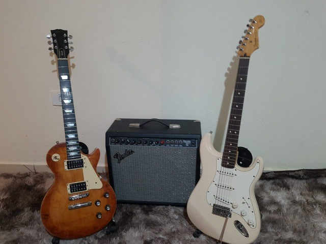 Guitarra Fender Gibson Ibanez - Foto 5