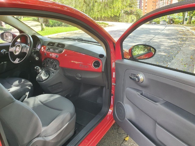 Fiat 500 Cult Completo Bem Novinho! - Foto 9