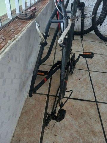 Bicicleta caloi quadro de aluminio aro 26 - Foto 2