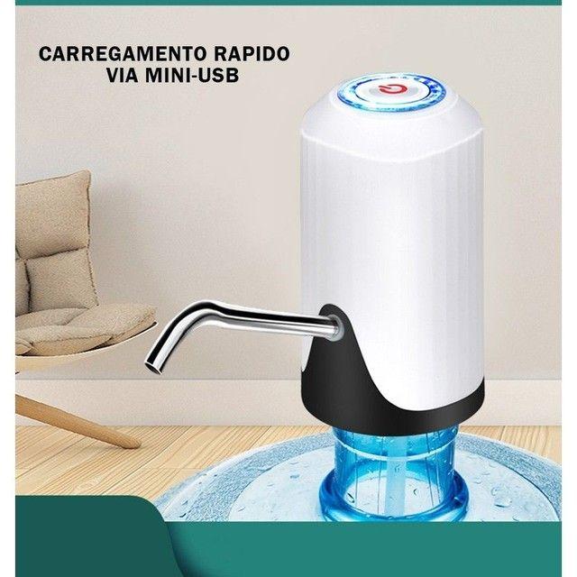 Bomba Elétrica De Galão Universal Com Carregamento USB Para Galão/Garrafão - Foto 5