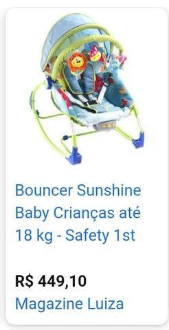 Cadeira de descanso baby - Bouncer Sunshine  - Safety 1st