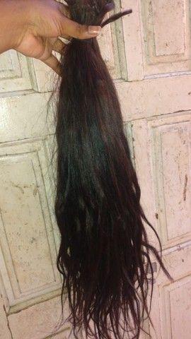 Vendo cabelo humano mil reais  - Foto 2
