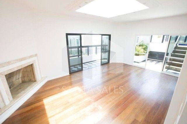 Belíssima cobertura duplex para locação - 4 dormitórios - Regiao de Moema - Foto 9