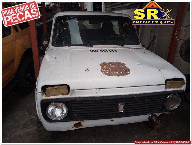 Sucata  Inteira Lada Niva  4x4 cambio manual   gasolina  1992  - Foto 3