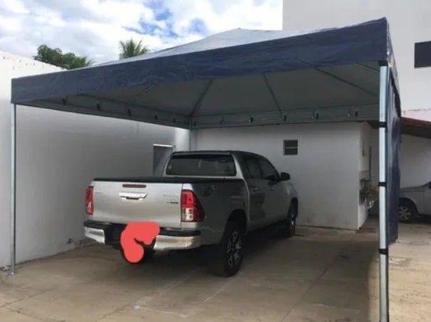 Tenda Piramidal para Proteger o seu Carro  - Foto 2