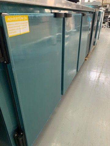 }[}\ Balcão de serviço 3 portas refrigerada (pronta entrega) - Foto 2