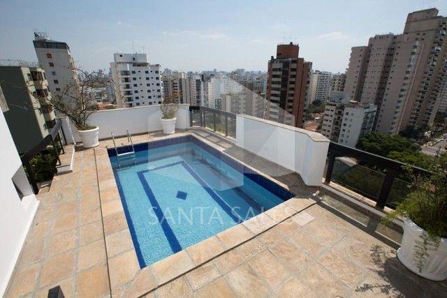 Belíssima cobertura duplex para locação - 4 dormitórios - Regiao de Moema - Foto 11