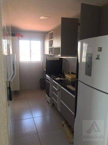 Apartamento com 2 dormitórios para alugar, 54 m² por R$ 1.570,00/mês - Bessa - João Pessoa - Foto 3