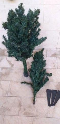 Árvore de Natal 02 peças completa com os pés  - Foto 3