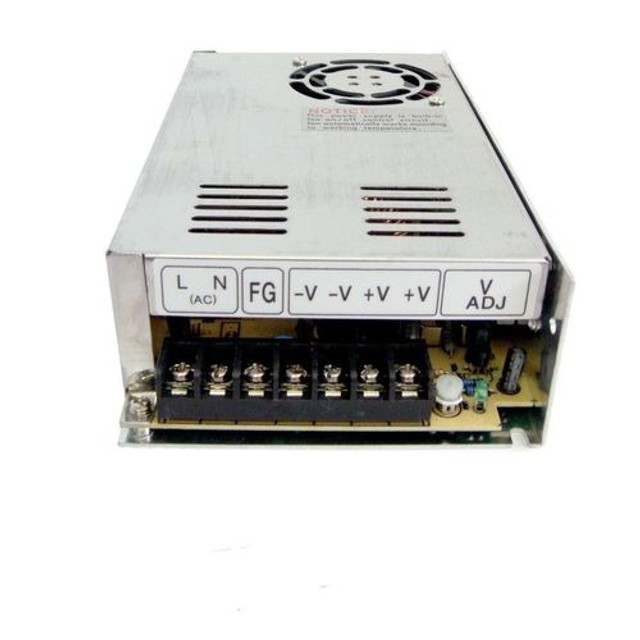 Fonte Chaveada Estabilizada 24v 20a Chave 110v / 220v 500w 24 volts 20 amper - Foto 2