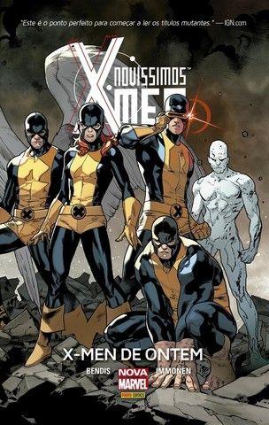 Encadernados Marvel: Fabulosos e Novíssimos X-Men | Novos Vingadores | Justiceiro MAX. - Foto 2