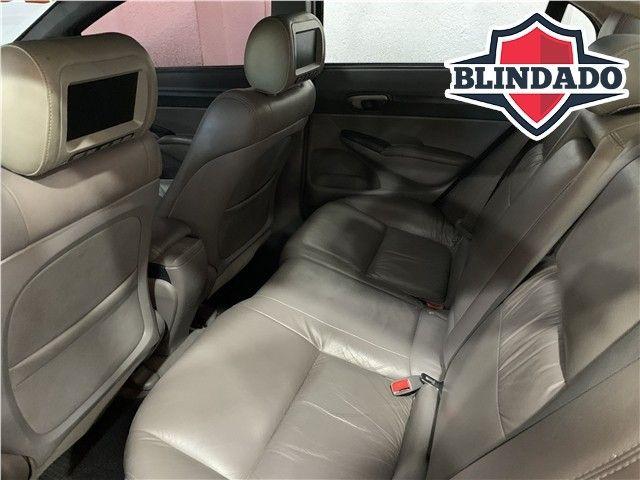 Honda Civic 2009 1.8 lxs 16v flex 4p automático - Foto 9