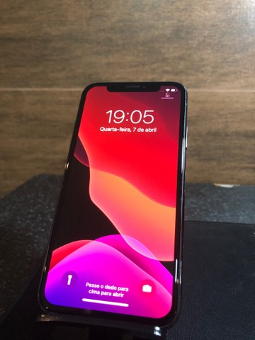 Iphone X 64GB PRETO - Novo sem caixa - Foto 4