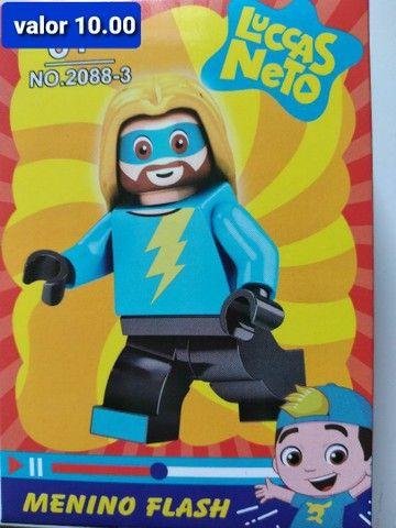 Super heroínas blocos de montar Similar ao lego  - Foto 5