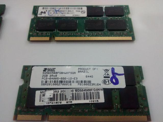 Memoria 2gb Ddr2 Notebook E Netbook