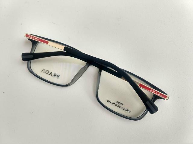 Prada óculos aramacao acetato excelente qualidade da marca ... 94d2ba5afb