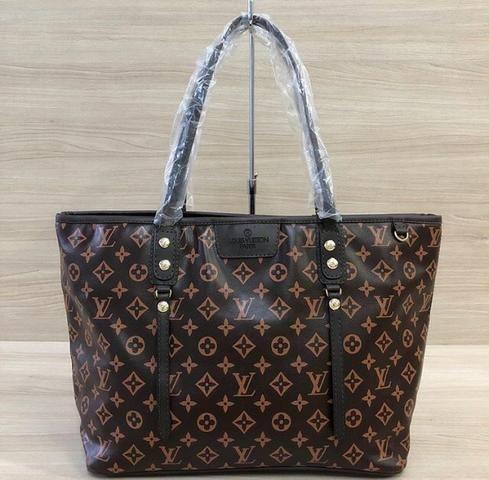 a901cd858 Bolsa Shopper Neverfull Louis Vuitton Monograma Paris - Bolsas ...