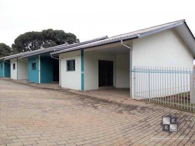 Casa com 2 dormitórios para alugar, 72 m² - São Cristovão - Três Barras/SC