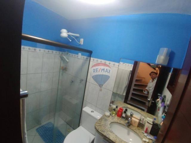 Flat estilo casa duplex com 2 dormitórios à venda, 57 m² por r$ 185.000 - ponta negra - na - Foto 13