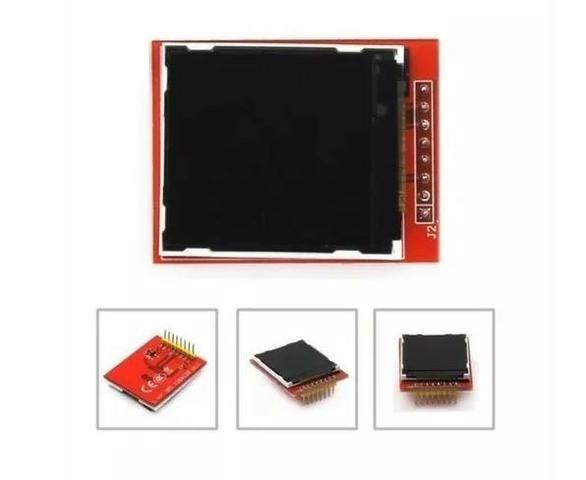 COD-AM165 Display Lcd Tft 1.44 Pol 128x128 Pixels Nokia 5100 Modulo Arduino Robotica - Foto 3