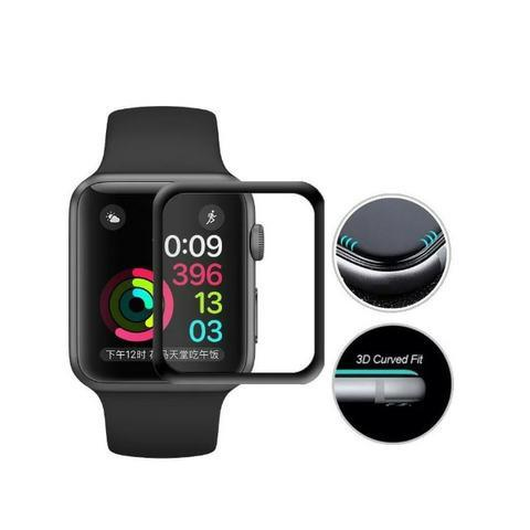 Película 5D Nano Gel Para Apple Watch 40mm Tela Inteira - Foto 4